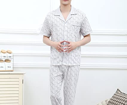 Beancan 2018 Mens Sleepwear Menss Cottons for Men 8149 at Amazon Mens Clothing store: