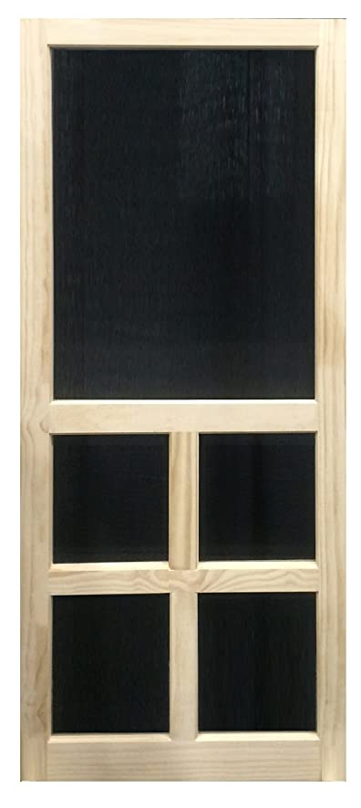 Bon Solid Stainable Screen Door Victoria 30 Inch (30x80)