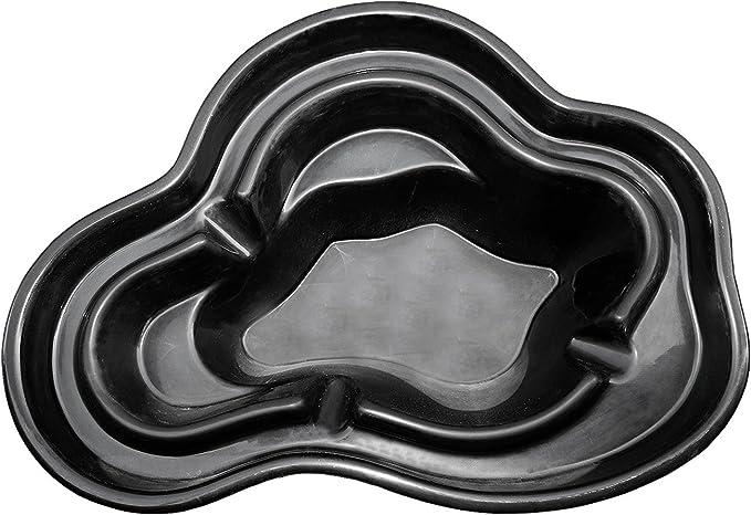 M+W Gartenflair - Estanque de polipool, 1340 litros, 265 x 190 x 85 cm, Negro: Amazon.es: Jardín