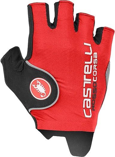 castelli Rosso Corsa Pro Guantes de Ciclismo para Hombre