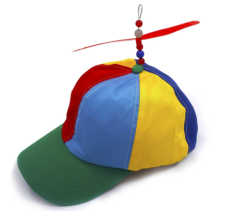 Kuzhi Multi-Color Propeller Hat for Kid - Baseball Style (Green)