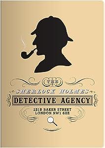 "Sherlock Holmes Notebook - 7"" x 4.75"""