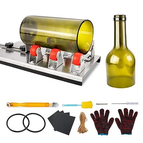 VIBIRIT cortador de botellas de vidrio, herramientas de corte de ...