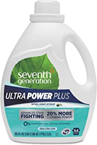 Seventh Generation Ultra Power Plus Laundry Detergent - 95 oz - Fresh Scent