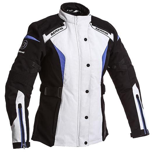 24d5dde257 BERING-Giacca LADY SAFARI-T6-Colore: nero/grigio/blu, colore: nero ...