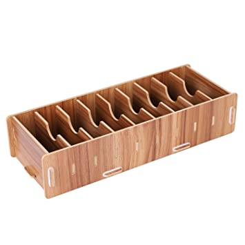 Box Für Visitenkarte Holz Pu 9 Fächer Für Ausweis D Schüler