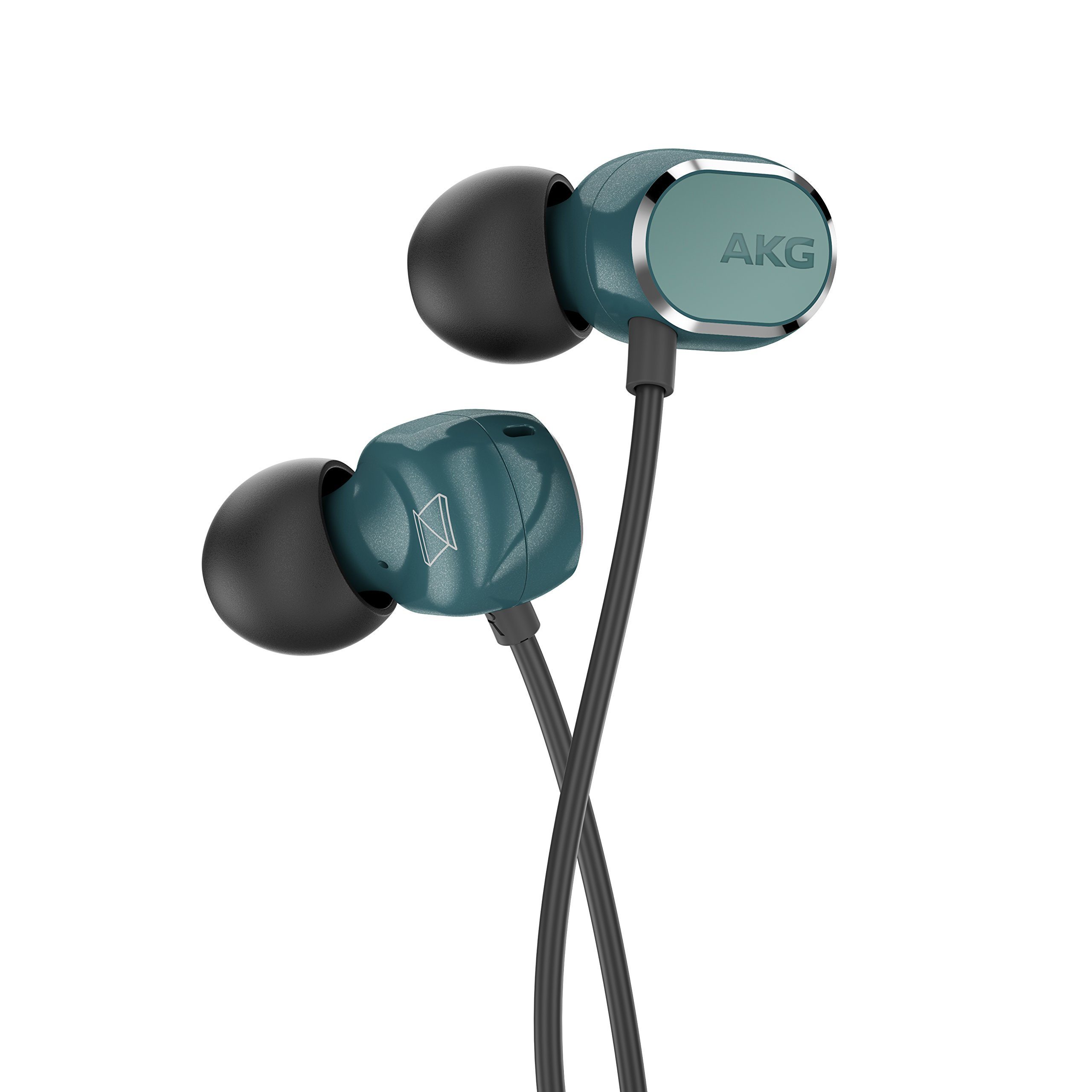 AKG N25(Canal type earphone/High res/Dual dynamic type)【For Android / with remote control microphone with changeover switch for iOS】AKGN25TEL (Teal green)【Japanese domestic genuine】 by AKG