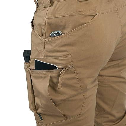 color gris oscuro Pantalones t/ácticos urbanos de polialgod/ón de ripstop Helikon Tex
