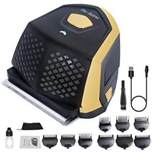 Self Haircut kit for Men, Dee Banna Pro Men's Hair Clippers with Lithium Max Power, Rechargeable Shortcut Haircut Kit with 9 Combs, Haircut at home Full set of Hair Trimmers