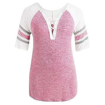 Mujer y Niña otoño fashion,Sonnena ❤ Top casual de tallas finas para mujer. Pasa ...