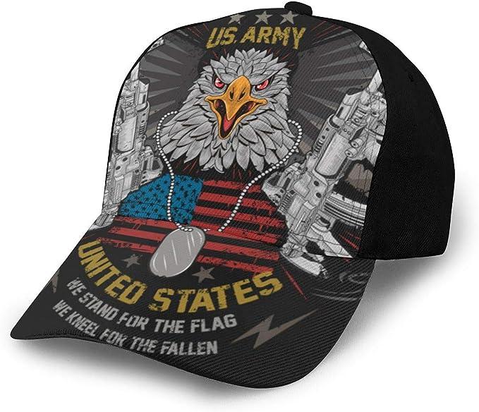 Eagle Head USA Gorra de béisbol Unisex con diseño de Bandera ...