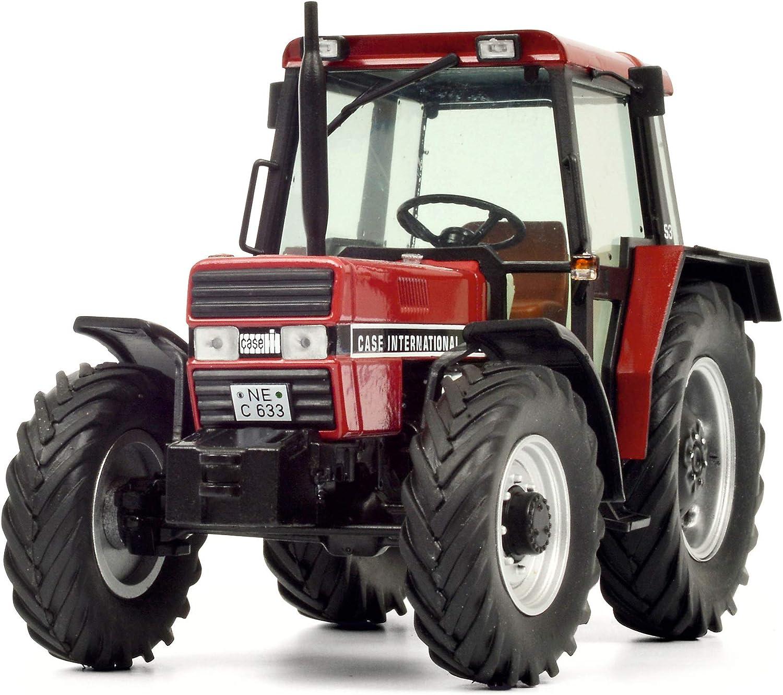 rot 1:32-450779300 Schuco Modell Traktor International 433