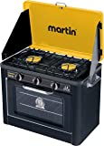 Outdoor Portable Propane High and Low Pressure Camping Gas Stove and Oven Combo by Martin