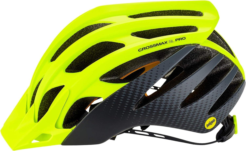 Amarillo//Negro Contorno de la Cabeza M 54-59cm 2019 MAVIC Crossmax SL Pro MIPS Casco de Bicicleta Hombre