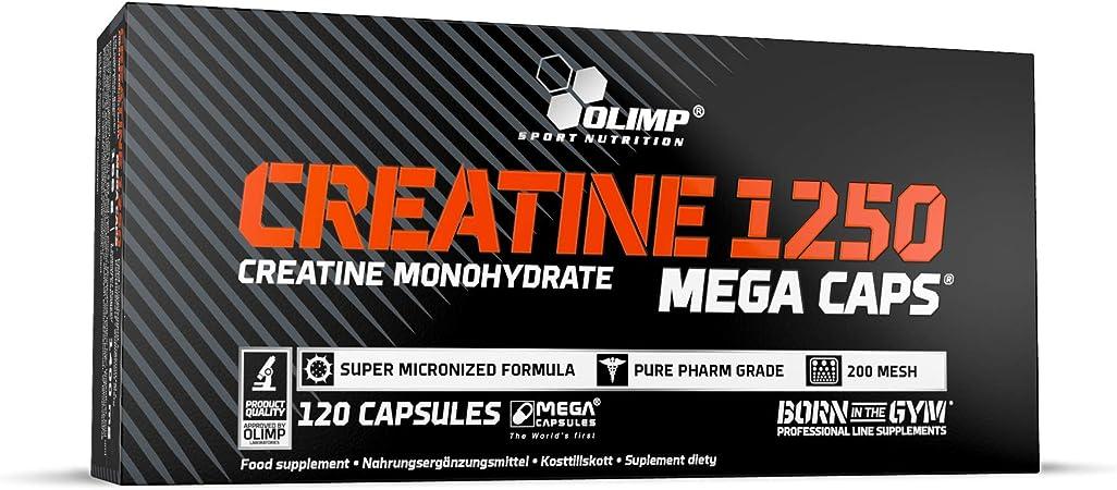 Creatina in capsule olimp sport nutrition - creatine mega caps creatina, 120 capsule 24748