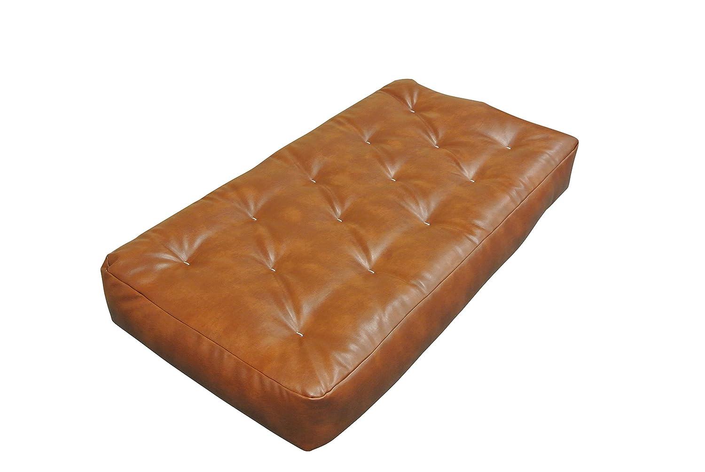 Gold Bond 0614I0-0105 Moonlight Chair Futon Mattress Chocolate 9 9 Microfiber