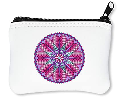 Mandala Billetera con Cremallera Monedero Caratera: Amazon ...