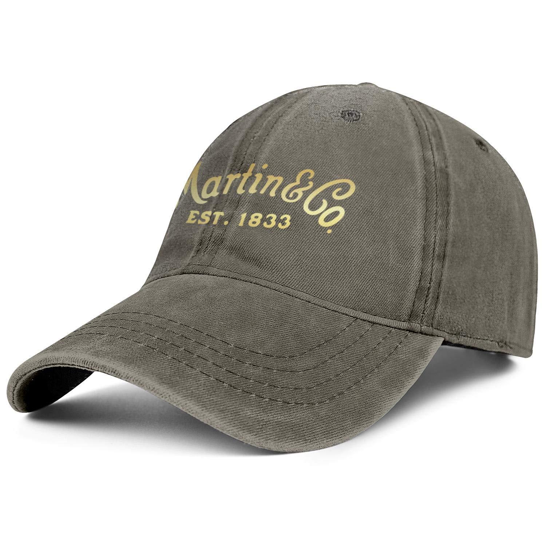Heart Wolf Unisex Trucker Hat for Mens Womens Hip-Pop C.-F.-Martin-Guitar-Fans Caps