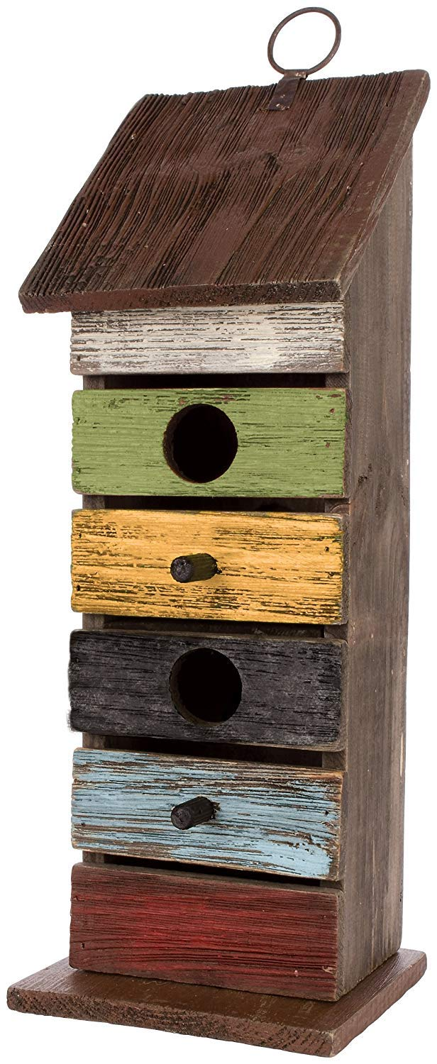 Carson Home Accents Vintage Tall Birdhouse 14.25-Inch Limited Edition