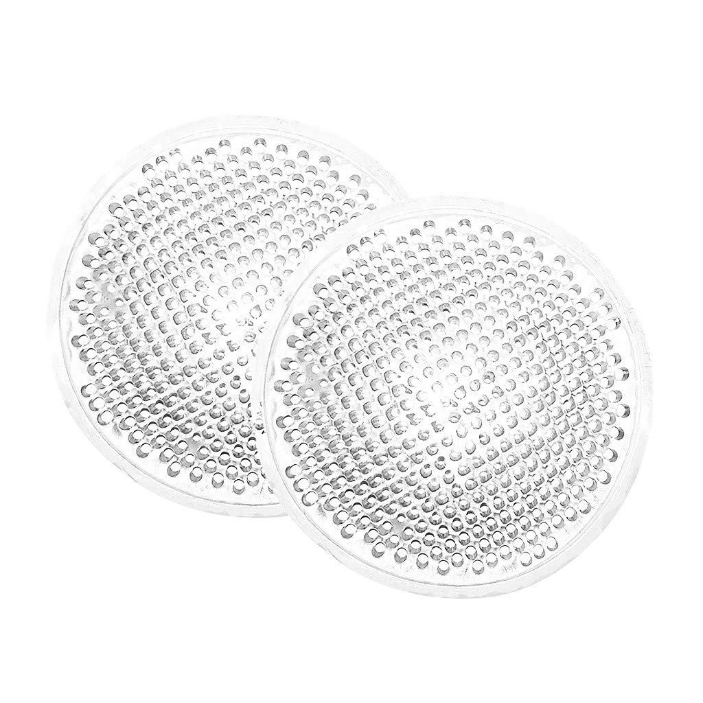 SNOWSONG Womens Reusable Perforated Bra Silicone Bra Push up Booster Pads Insert Pad Thickening Pads