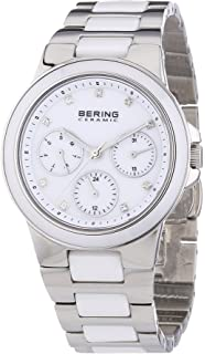 BERING Time 32237-754 Womens Ceramic Collection Watch with Stainless steel Band and scratch resistant
