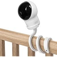 UIQELYS Flexibel kamerahållare för Eufy SpaceView babyskärm, S/Pro babymonitor kamerafäste, enkel inbyggd hållare inga…