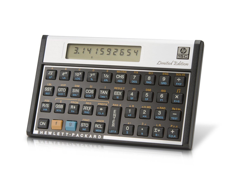 ヒューレットパッカード 15c 関数電卓 復刻版 日本語マニュアル付属   B006Y1MFMA