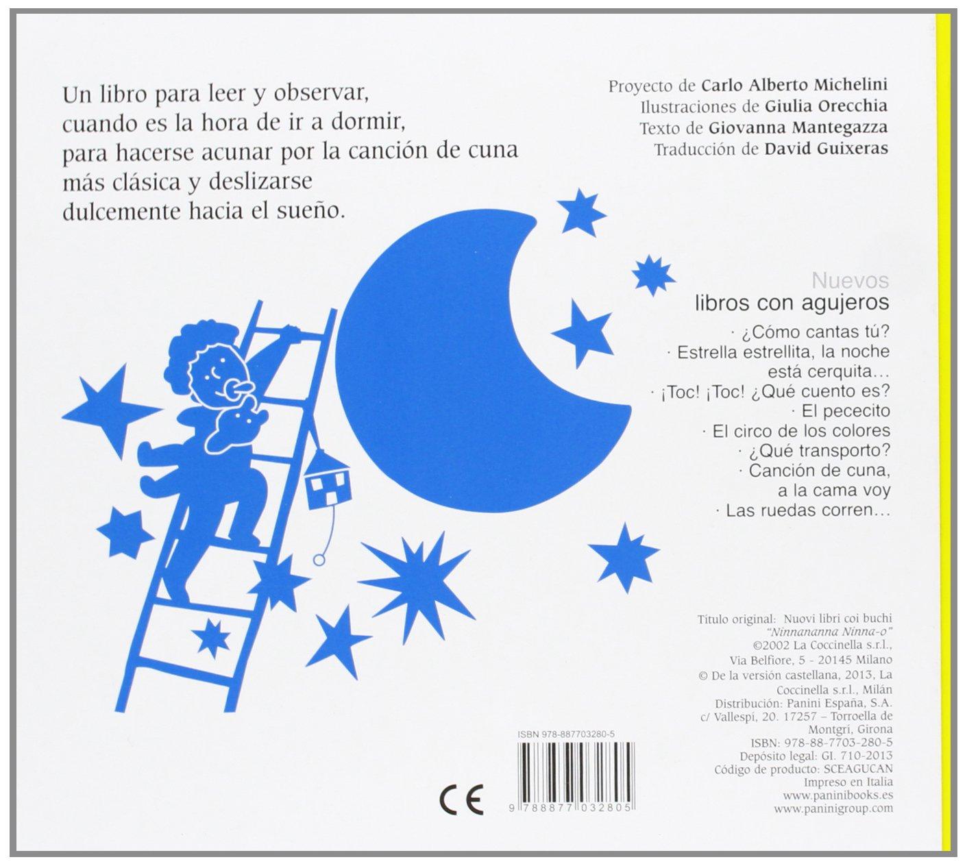 CANCION DE CUNA COCCINELL PANINI: Giovanna Mantegazza: 9788877032805: Amazon.com: Books
