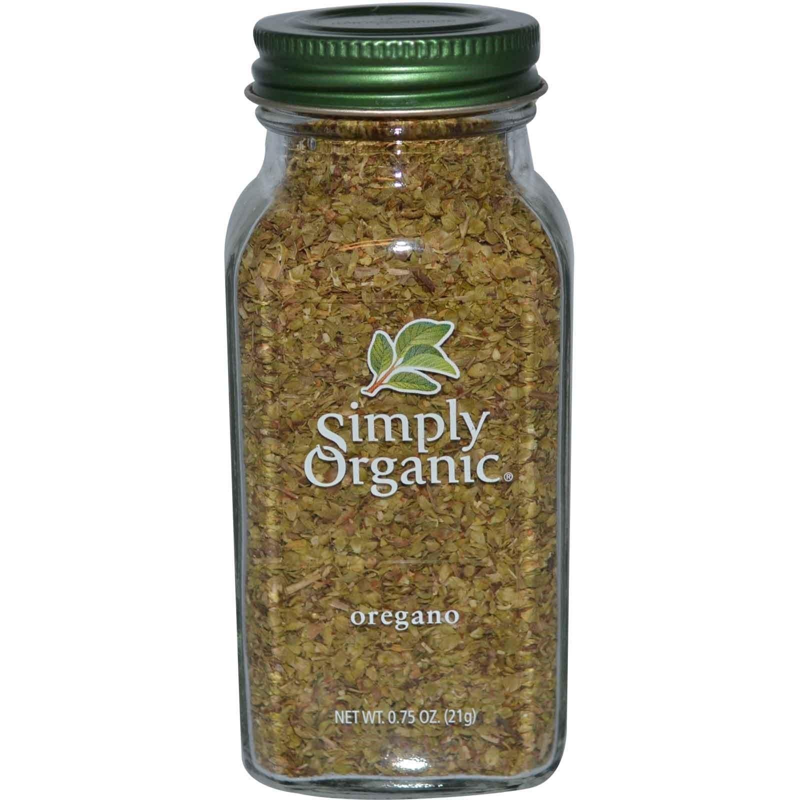 Simply Organic Ssnng Oregano Org Bttl