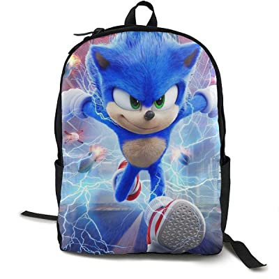 LvSe Sonic The Hedgehog Good Gifts For Boy And Girl Beautiful And Personality Schoolbags Backpack Bookbag | Kids' Backpacks