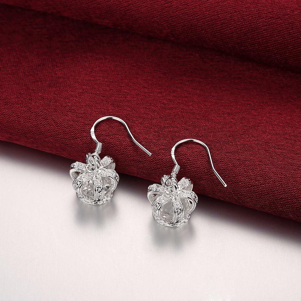 Earrings Crystal Gem Personalized Charm 2018 New Earrings LKNSPCE081 LEKANI Ms