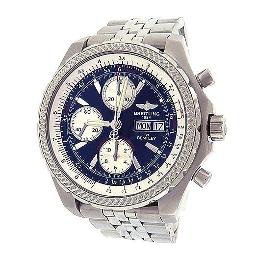 Breitling Bentley automatic-self-wind Mens Reloj a13363 (Certificado) de segunda mano: Breitling: Amazon.es: Relojes