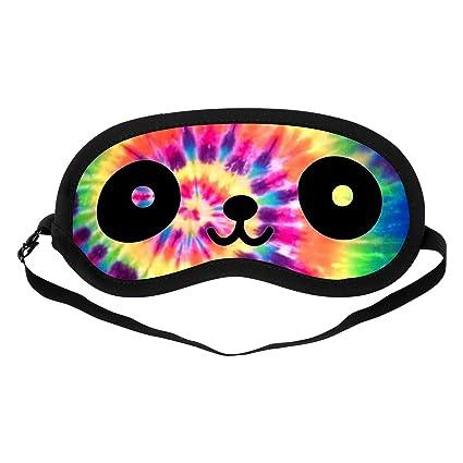 sangkoo moda gato ojos máscara de ojo máscara de dormir, de algodón suave ajustable cabeza