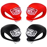 Malker Bicycle Light Front and Rear Silicone LED