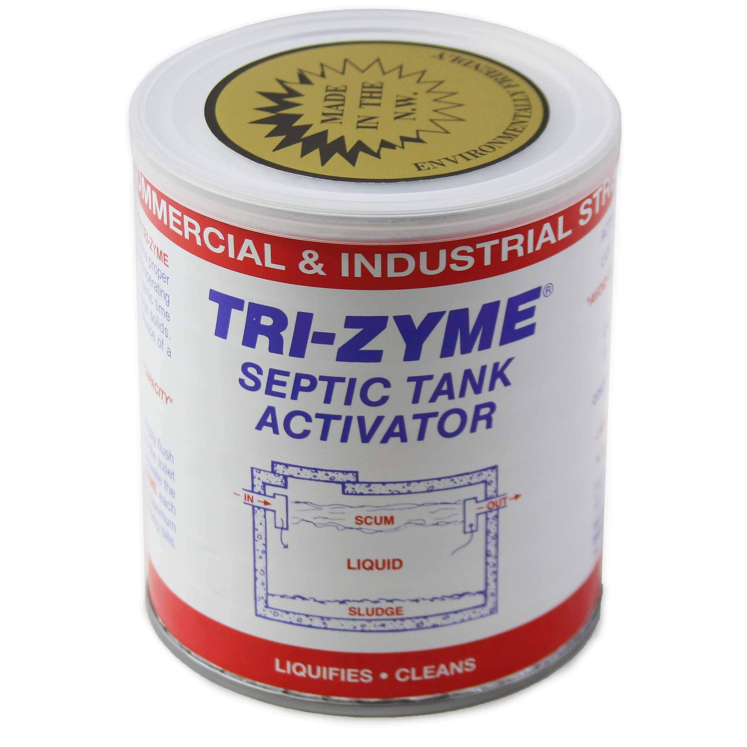Tri-Zyme - Commercial and Industrial Strength Septic Tank Activator