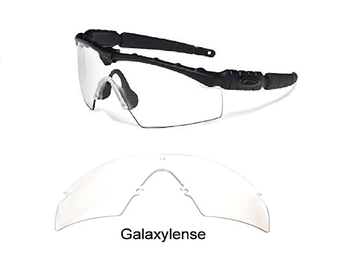 8961f9d20fdec Galaxy Replacement Lenses For Oakley Si Ballistic M Frame 2.0 Z87 Crystal  Clear