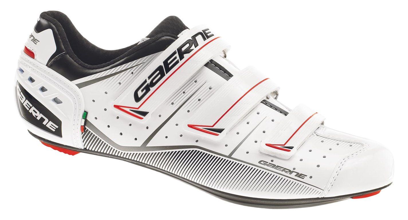 gaerne(ガエルネ) 自転車 Gレコード ロードバイク ビンディングシューズ ホワイト 26.0 3288 004   B07591Y8YF