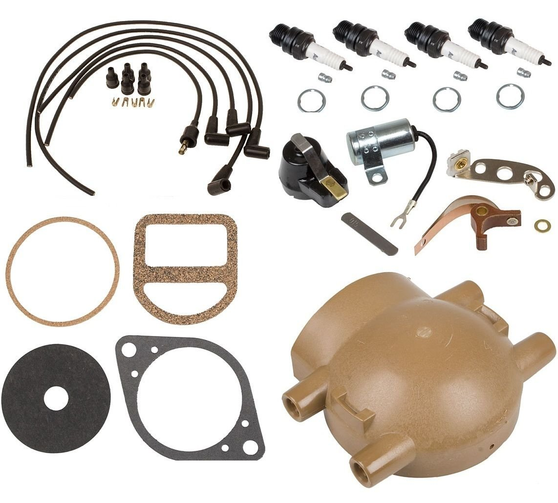 Complete Tune Up Kit For Ford 9n 2n 8n Tractors With 1946 Distributor Wiring Front Mount Garden Outdoor