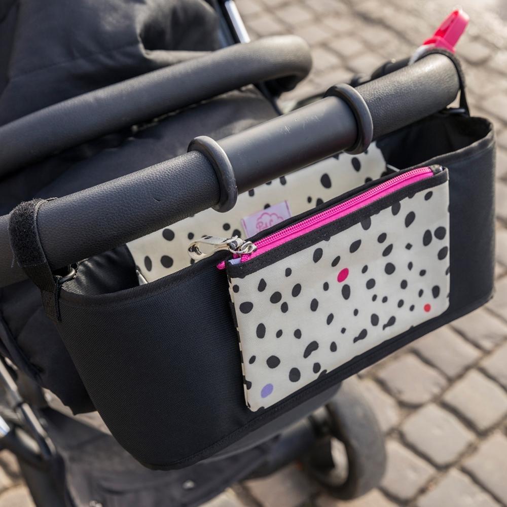Pink Lining Kinderwagen-Organizer Stroller Organiser Dalmatian Fever