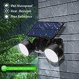 Solar Lights Outdoor, 30 LED Solar Security