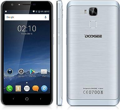 Doogee Y6 - Smartphone libre Android 6.0 (4G LTE, Pantalla 5.5 ...