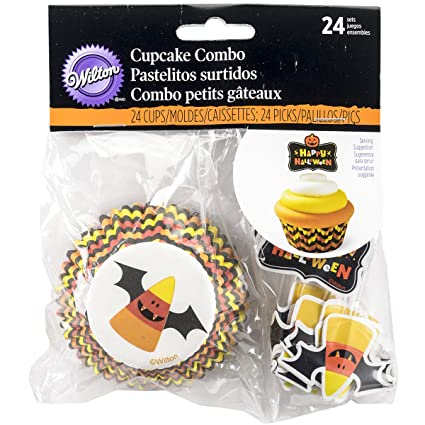 Amazon com: Wilton 415-3171 Candy Corn Combo Pack, Assorted