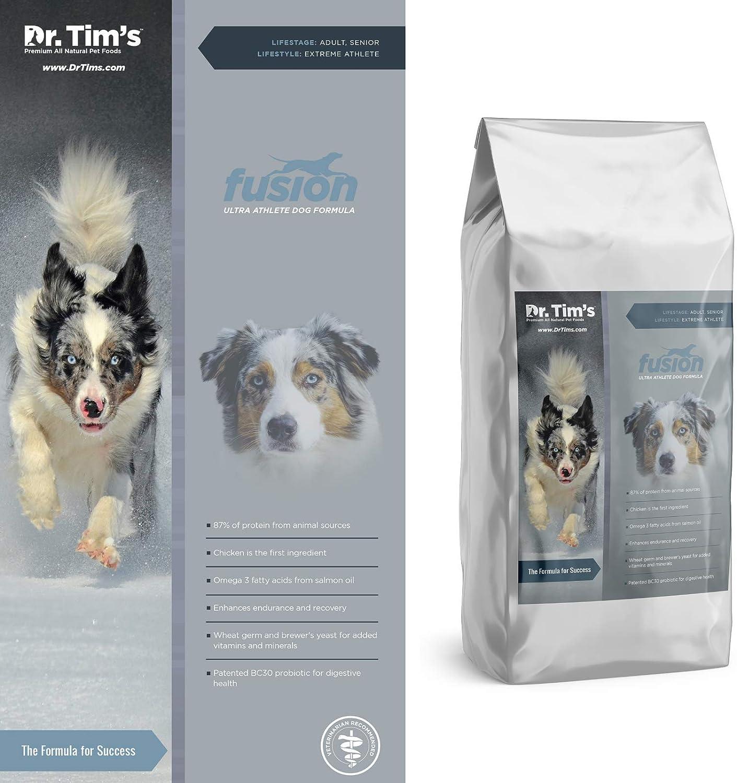 Dr. Tim's Extreme Athlete Fusion Formula Premium Dry Dog Food, 40 lb. Bag