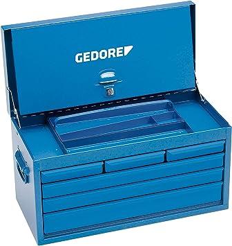 Gedore 1410 L - Caja de herramienta con 6 cajones, vacía 364x663x308 mm: Amazon.es: Bricolaje y herramientas