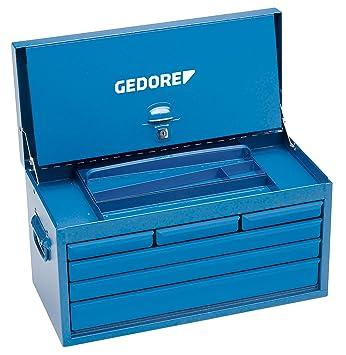 GEDORE 6614300 Caja de herramienta con 6 cajones, vacía 364x663x308 mm: Amazon.es: Bricolaje y herramientas