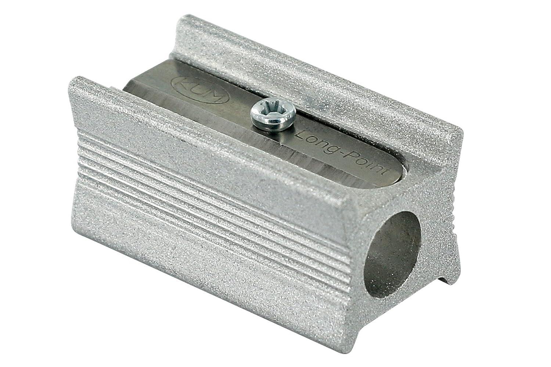 KUM AZ104.06.19-M Langkonusspitzer Magnesium-Stenograph 400 5L für lange Minenspitzen, 1 Stück, silber 1 Stück