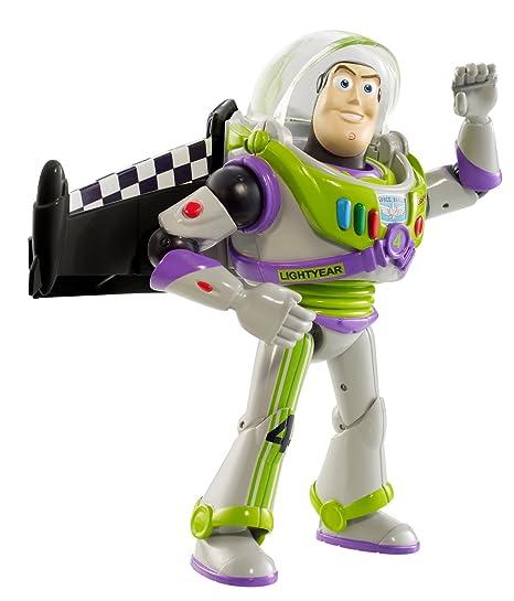 Toy Story - la raza RC figura de acción - Buzz Lightyear con alas turbo