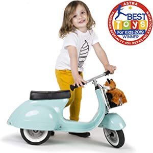 ambosstoys Toddler Scooters for Boys and Girls Primo – Durable, Valuable and Timeless Design Kids Ride on Toys for 1 Year Old - 2 - 3 - 5 Year Olds, Collectors and Design Lovers