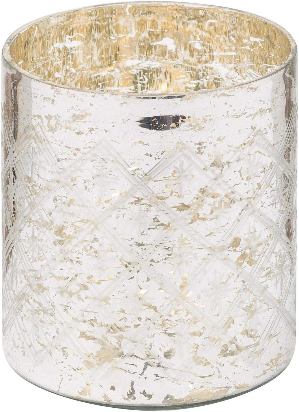 Hill 1975 The Noel Collection Mercury Pillar Candle Holder Mixed One Size