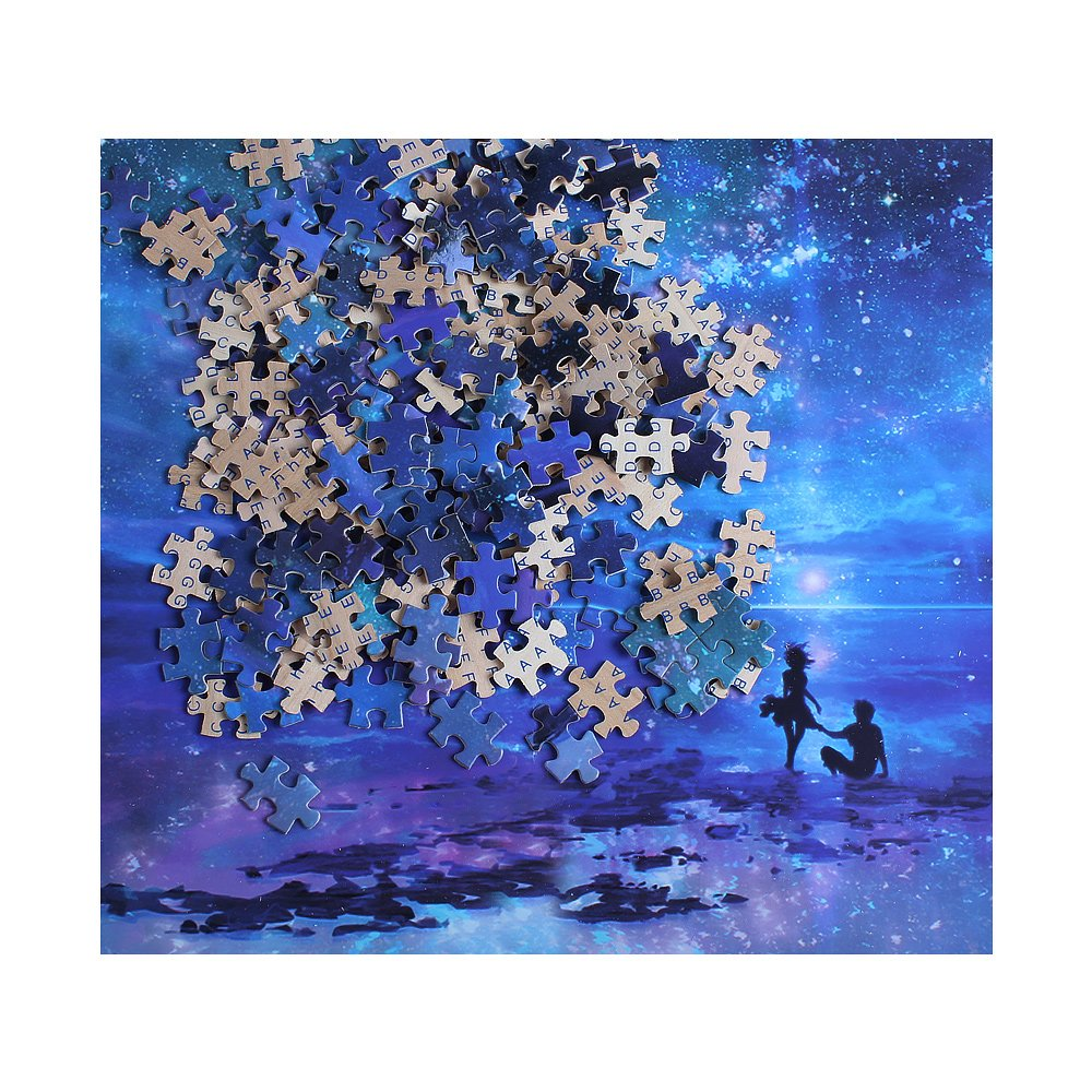 Ingooood- Imagination Series- Fantasy Romantic Star Sea- Jigsaw Puzzles 1000 Pieces for Adult